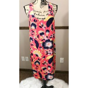 J Crew Silk Floral Dress